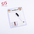New Style writing white board soft magnetic shopping list board