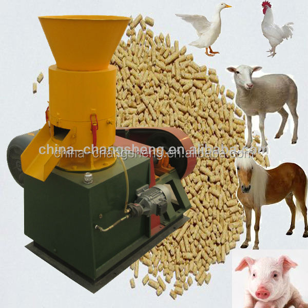 CS 100-300kg/h animal food pellet making machine for chicken rabbit sheep cow