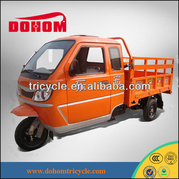 hot sale cargo enclosed 3 wheel motorcycle