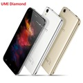 Original Umi Diamond 4G LTE 5.0 inch Android 6.0 MTK6735 Qcta Core cellphone RAM 3GB ROM 16GB 2650mAh 13MP OTG Mobile Phone