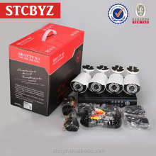 High resolution 720P day night vision business surveillance ahd dvr kit 4ch