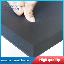 Nanjing Bonzer black color commercial grade foam rubber sheet