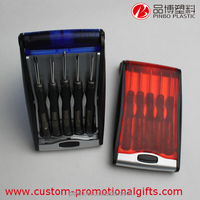5-Piece rubber tipped screwdrivers with oval head s,custom special bits screwdriver set