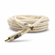 Daul color plug RCA to RCA audio and video cable