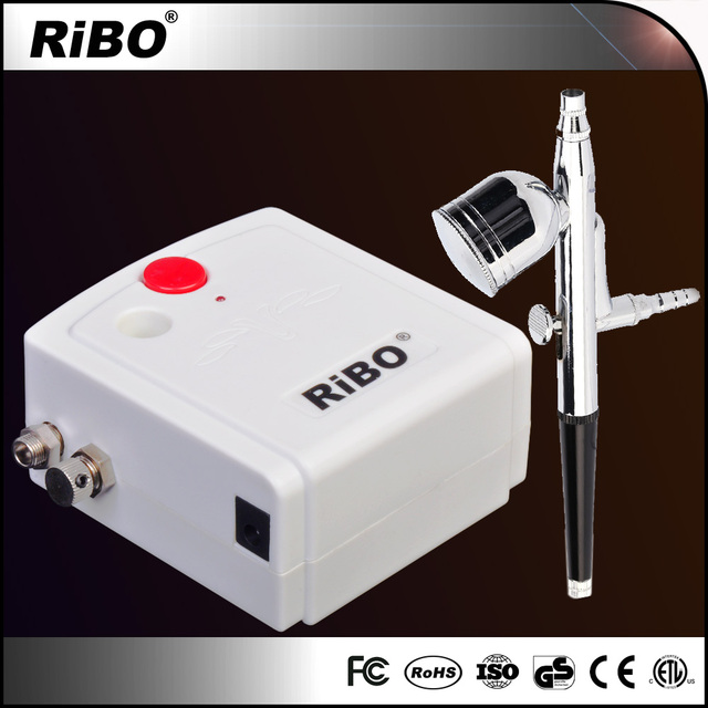 Top-quality Air brush kit mini full face paint airbrush makeup kit with Auto Start and Auto Stop Function