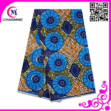 African veritable real wax fabric ankara wax print fabric with high quanity