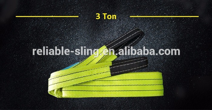 Customized Duplex Polyester Flat Sling Webbing