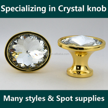 Sparkling diamond crystal handles & knobs for cabinet for drawer