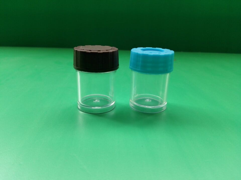 2017 hot sale 10ml round pill PE plastic bottles