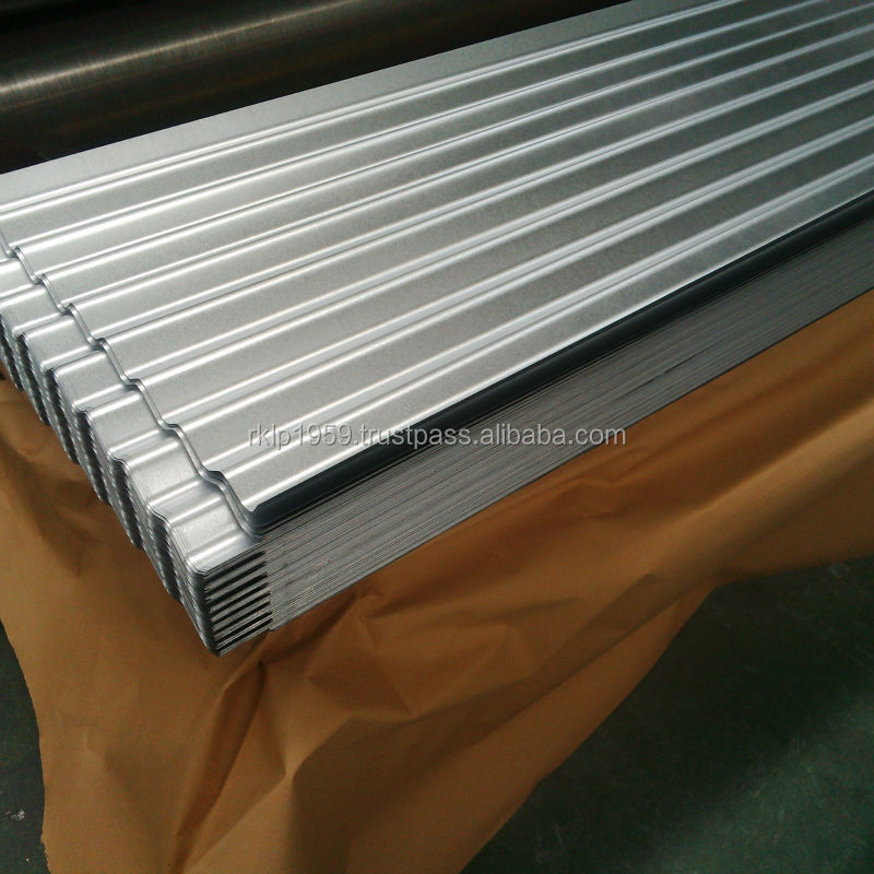 GALVANISED AND ALUZINC STEEL CORRUGATED SHEETS FOR AFRICA