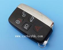 Genuine Replace Key Shell fit for LAND ROVER LR4 Range Rover Smart Key Case 5 Button