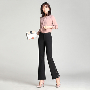 High quality custom wide leg pants women jean
