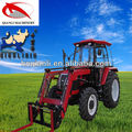 low prices hot sale 4 wheel drive tractors 90hp 4wd with front end loader