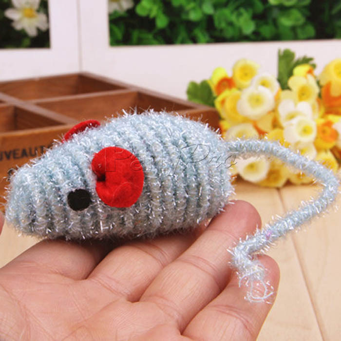 2015 Wholesale New Fashionable Mouse Shape Bungee Cords Cat Toy