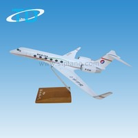 """Hebei airlines"" GULFSTREAM G450 31cm 1/100 aircraft model"