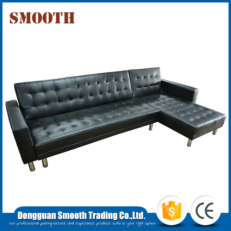 Modern living room PU 2 in 1 cheap sofa bed
