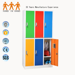 Henan Handinhand clothes almirah used school lockers for sale
