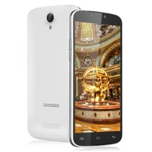Original DOOGEE X6 5.5inch Android 5.1 Smartphone MTK MT6580 Quad Core Mobile Phone GSM/WCDMA Dual SIM Unlocked Cellphone