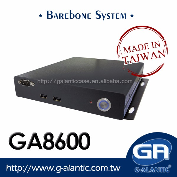 GA8600 - Barebone System Mini ITX For EPOS POS System and Car PC