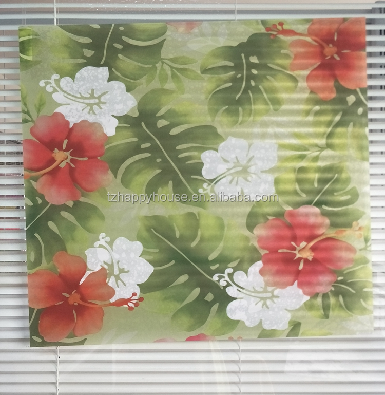 non-poisonous office decoration soft vinyl glass film