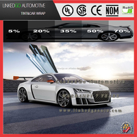 DOT/CE certification car 2ply 1.52*30m automotive window tinting film tinted automobile glass