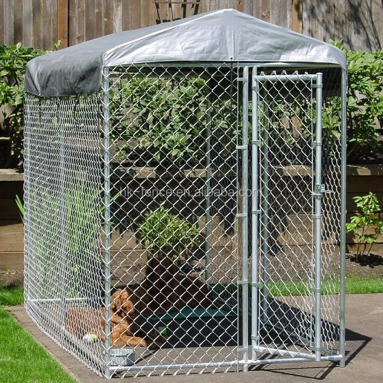 Competitive price outdoor pet breed cage large type dog for Building dog kennels for breeding