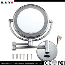 New and hot different types bathroom backlit silver mirror left an right light with good prices