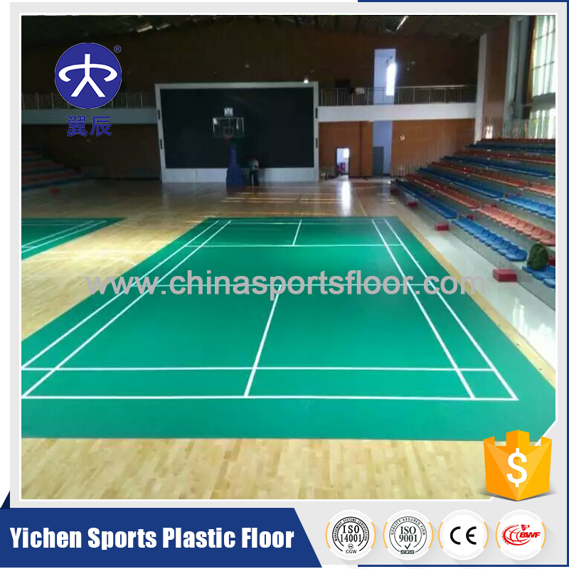 High Quality Badminton PVC Flooring/Badminton Rubber Floor/Badminton Vinyl Flooring