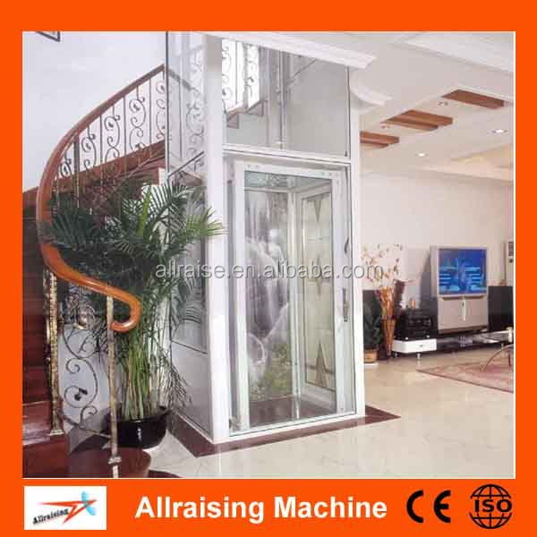 Household Villa Glass Home Elevator