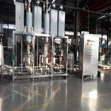 High efficient molecular distillation equipment with high vacuum for CBD oil extraction