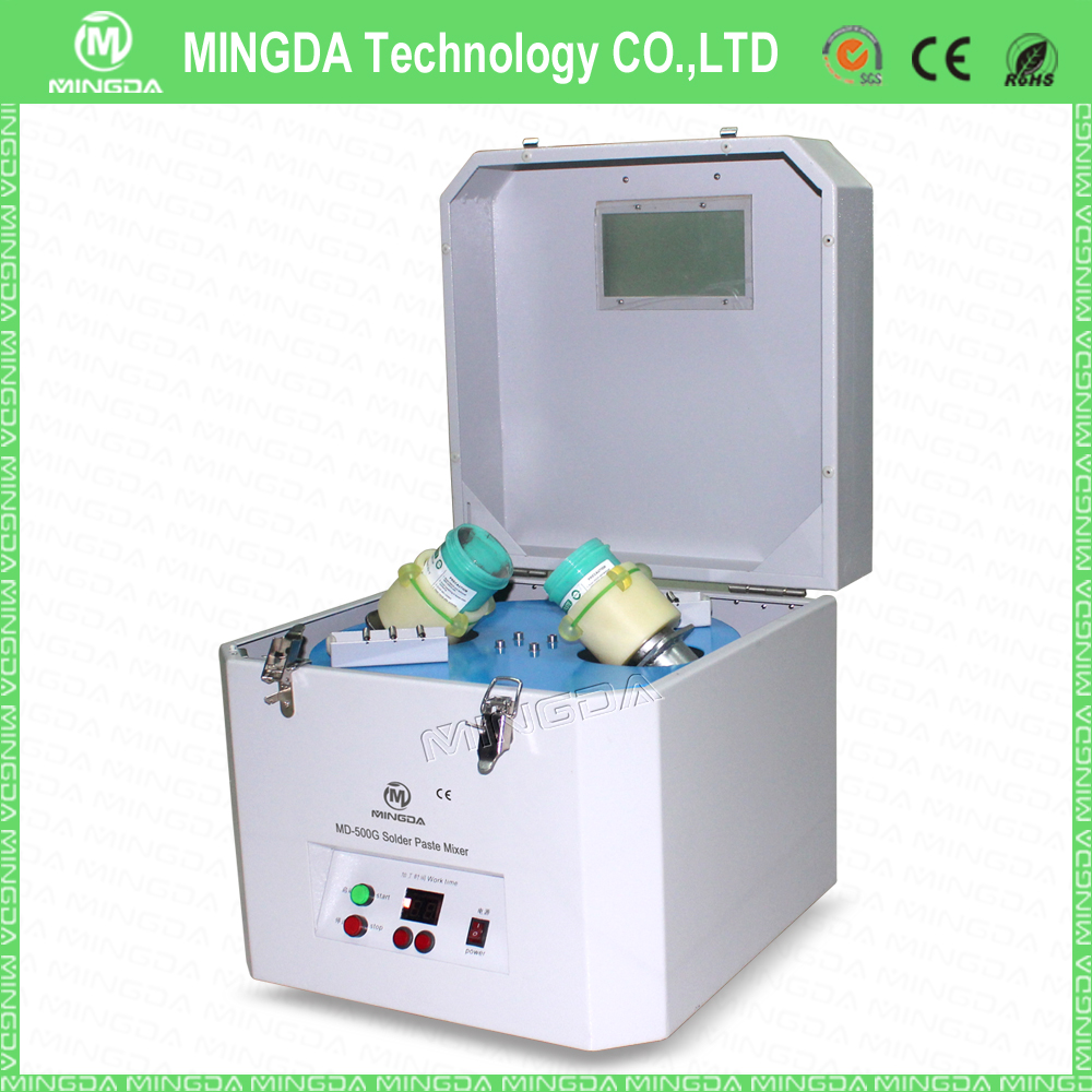 High quality MINGDA 180W MD-500G solder paste mixer / Solder paste mixing machine with 100g-1000g