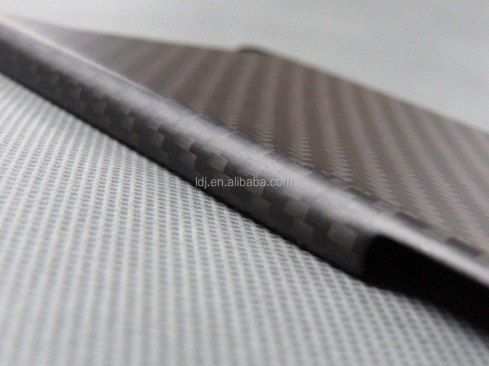 Black 100% Real Carbon Fiber Case For Apple iPhone 6 6s