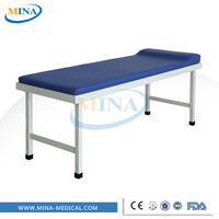 MINA-ZC2 hospital use steel backrest medical examination table