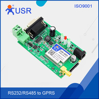 USR-GPRS232-730-pcba GPRS DTU Module Serial RS232/ RS485 to GSM Module Support TCP and UDP