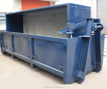 Hooklift bins metal scrap containers recycling hook lift bins for transport