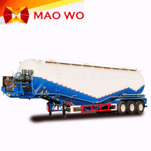 China factory dry powder transport semi truck bulk cement tanker trailer