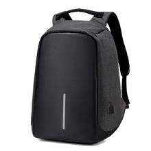 Factory Price New Fashion Business Travel Usb Charging Laptop Bag Anti Theft smart Backpack