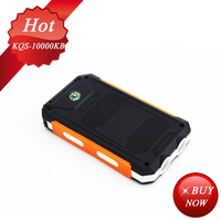 Factory Directly sale 10000mah solar power bank solar car battery charger