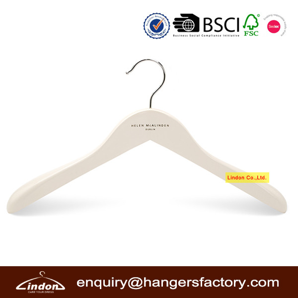 Assessed Supplier LINDON Deluxe Wide Shoulders Clothes Hanger Factory