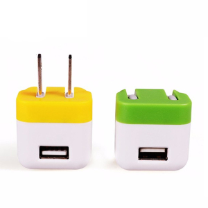 5V 1A folding world travel original fast us adaptive wall charger with adaptable plug