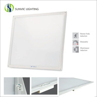 new product Smart 600x600 panel led motion sensor ceiling light with remote