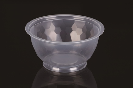 Food Grade High Quality 380ml PP Plastic Disposable Noodle or Soup Container