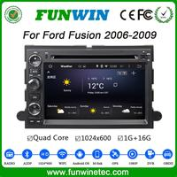 Funwin Android 4.4.4 dvd gps 1024*600 touch screen car dvd for ford fusion 2006 - 2009 bluetooth