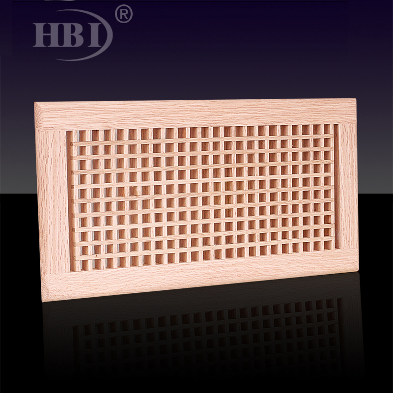 1WFEC Egg Crate Wooden Floor Grille Wooden Floor Return Air Vent Grille Eggcrate return arir grille