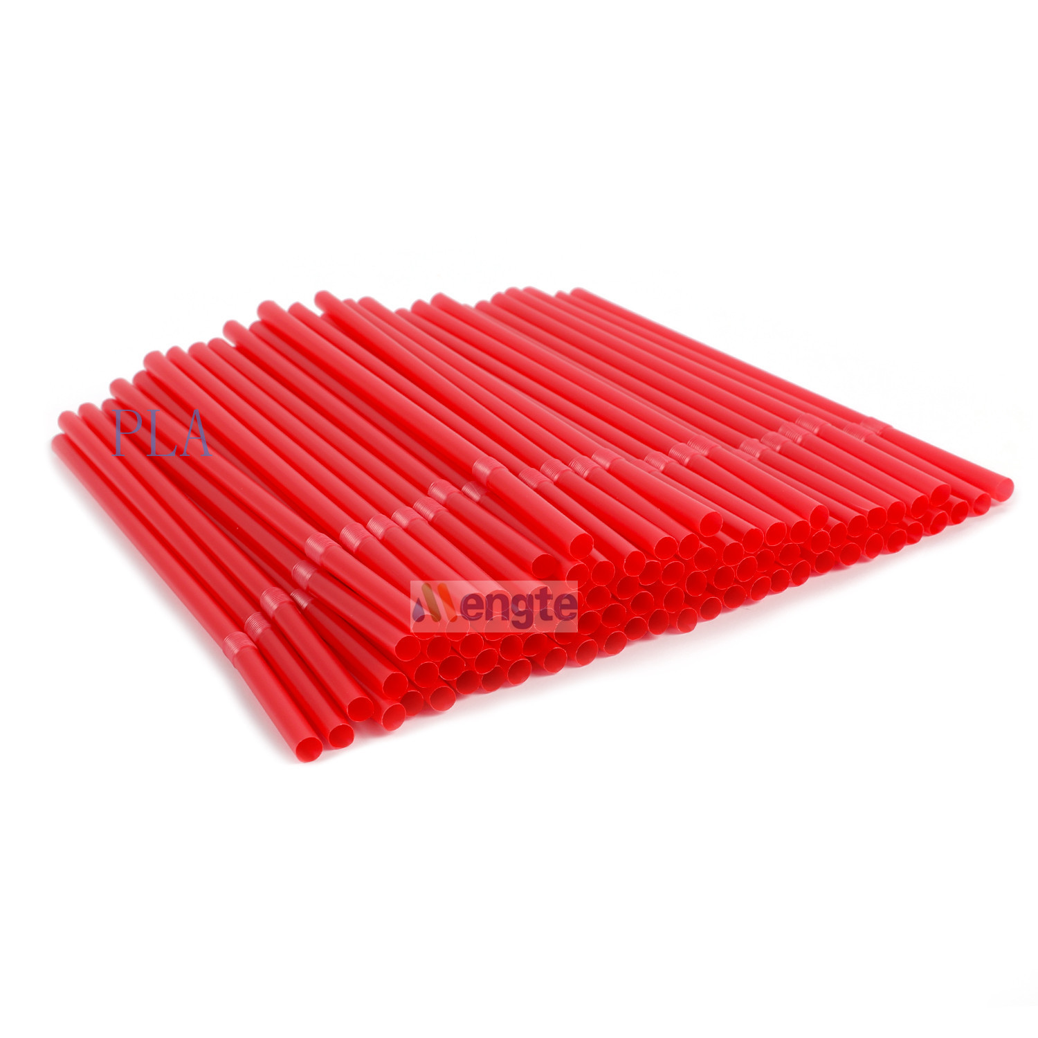 Corn starch 100% biodegradable non plastic drinking straw PLA straws reusable straws