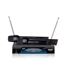 Wireless Communication and handheld headset mics Style vhf professional wireless microphone system