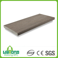 Cost effective wpc good surface hardness composite lumber sizes