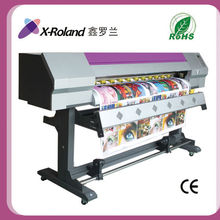 X-Roland 1.6m single head Epson DX5/DX7 solvent inkjet printer