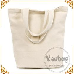 Cheap new design promotional recycled cotton tote bags