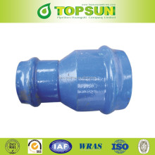 PVC Pipe fittings Ductile Iron Double Socket Reducer/ Taper For PVC Pipe